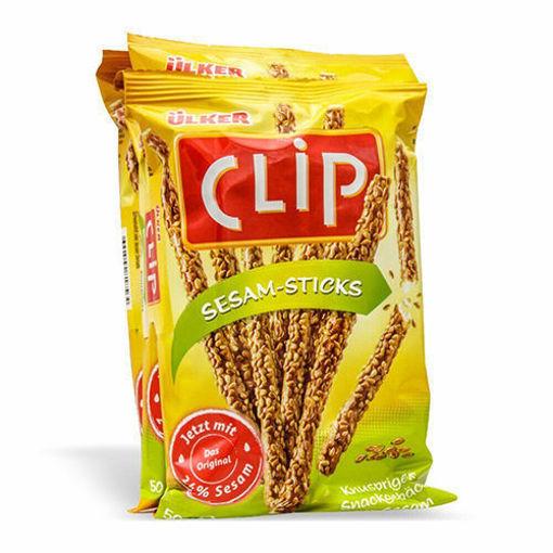 ULKER Clip Sesame (4 Pack) 200g resmi