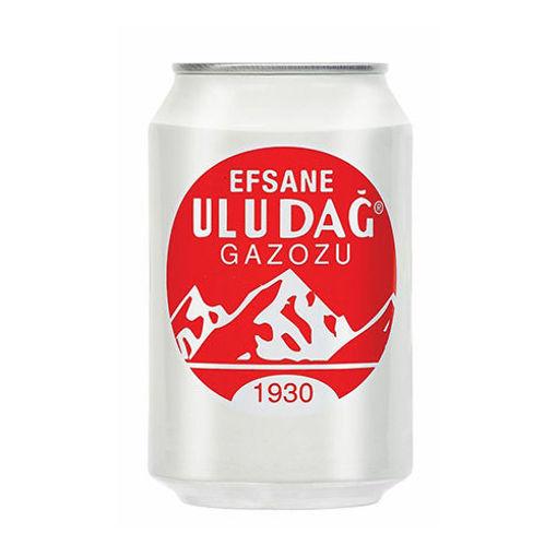 LEGENDARY ULUDAG Gazoz (Original Soft Drink) 330ml resmi