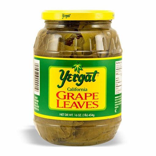 YERGAT Grape Leaves 454g resmi
