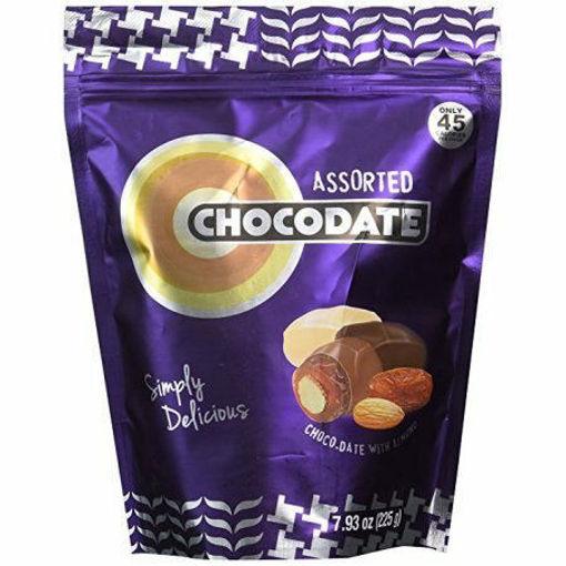 ZIYAD Chocodates Assorted Chocolate Dates 100g resmi