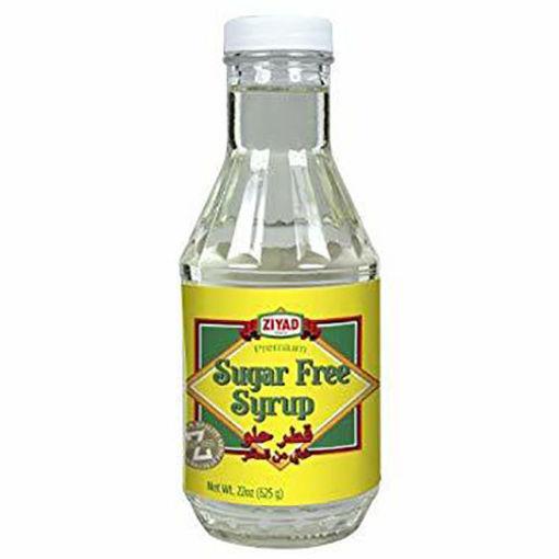 ZIYAD Premium Syrup Sugar Free 624g resmi