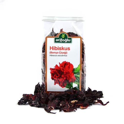 ARIFOGLU Roselle - Hibiscus (Bamya Cicegi) 100g resmi