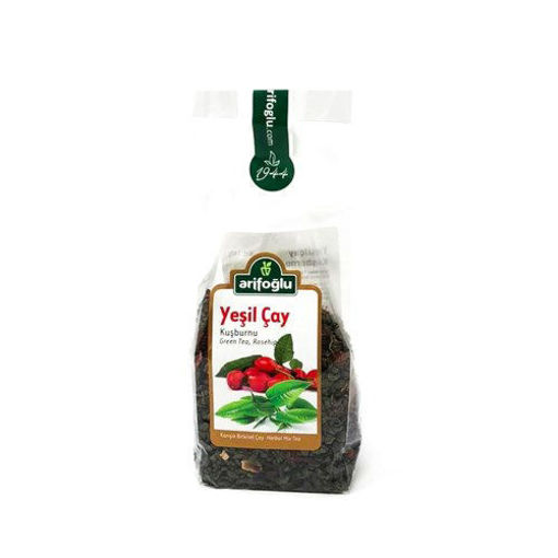 ARIFOGLU Green Tea w/Rosehip 140g resmi