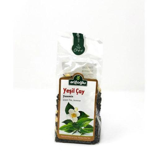 ARIFOGLU Green Tea w/Jasmine 120g resmi