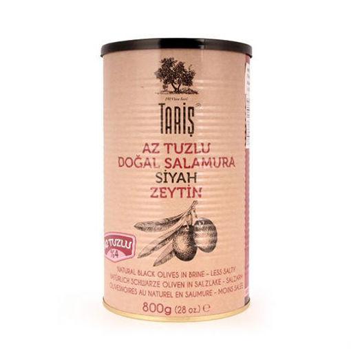 TARIS Low Salt Black Olives in Brine 800g resmi