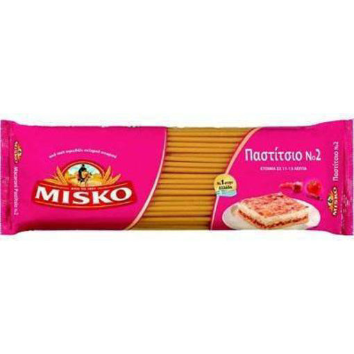 MISKO Pasta #2 Pastitsio (Long Tube Pasta) 500g resmi