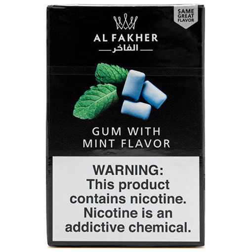 AL-FAKHER Gum with Mint Flavor 50g resmi