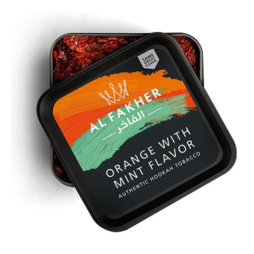 AL-FAKHER Orange with Mint Flavor 250g resmi