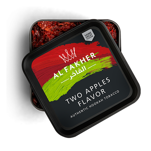AL-FAKHER Two Apples Flavor 250g resmi