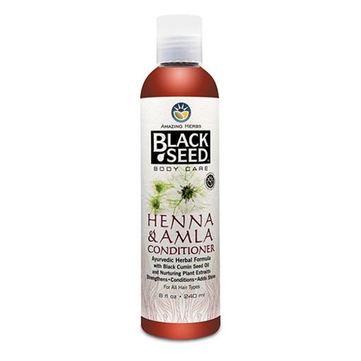 AMAZING HERBS Black Seed Hemma & Amla Conditioner 240ml resmi