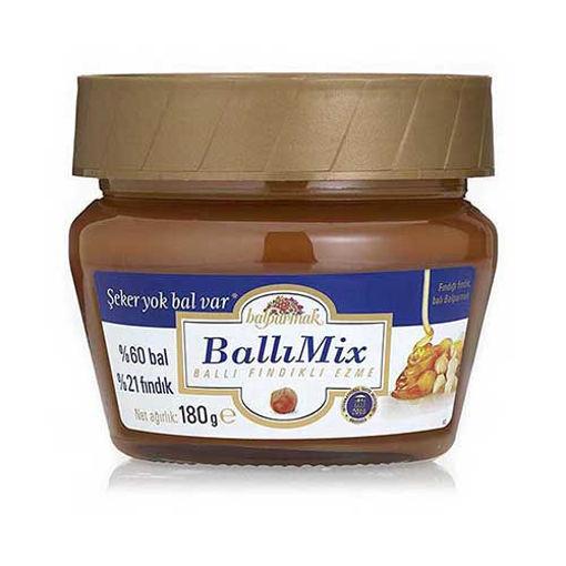 BALPARMAK Honey Mix Spread (Honey & Hazelnut) 180g resmi