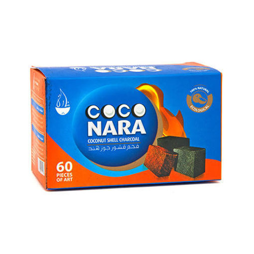 COCO NARA Coconut Shell Charcoal 60pc resmi
