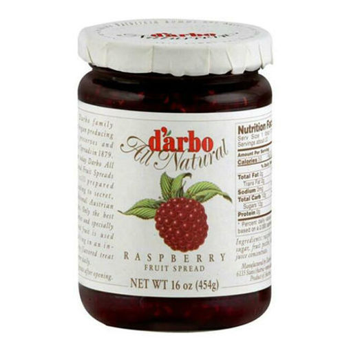 DARBO All-Natural Raspberry Fruit Spread 454g resmi