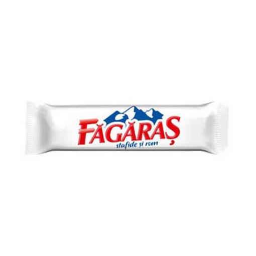FAGARAS Chocolate w/Raisins & Rum 45g resmi