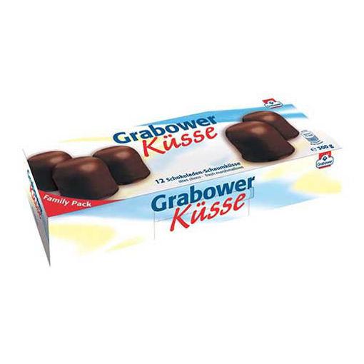 GRABOWER Küsse Marshmallow Chocolate 300g resmi