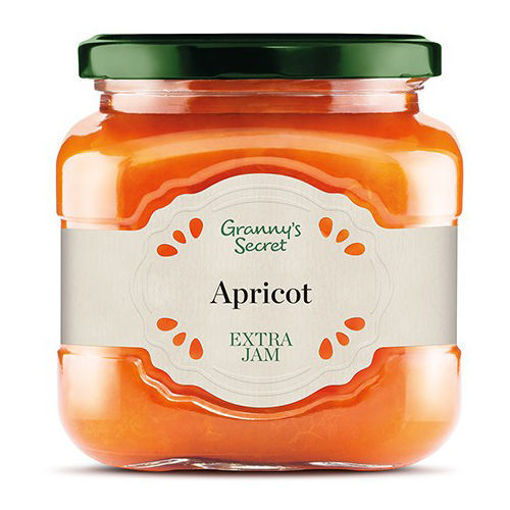 GRANNY'S SECRET Apricot Extra Jam 670g resmi
