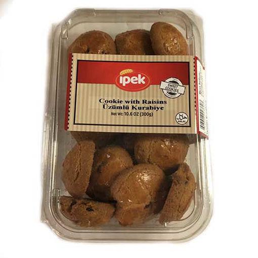 IPEK Cookie w/Raisins 300g resmi