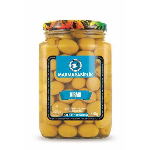 MARMARABIRLIK Green Cracked Olives 4XL 850g resmi