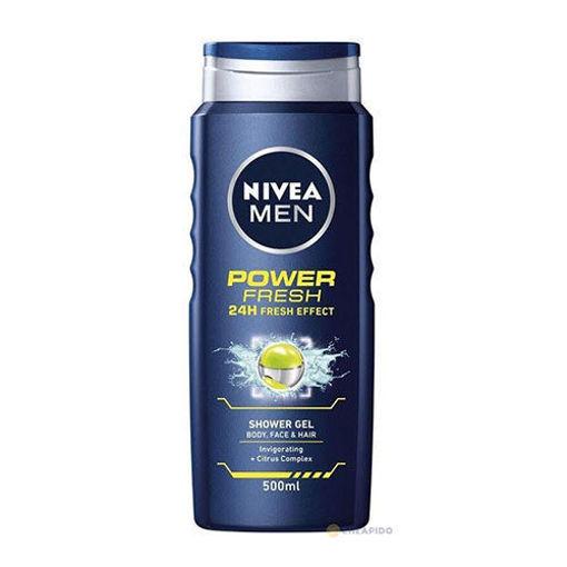 NIVEA Power Fresh Shower Gel 250ml resmi