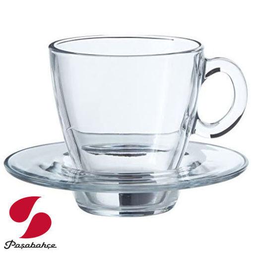 PASABAHCE Aqua 12pc Tea Set resmi