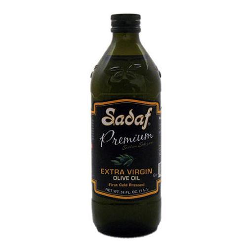 SADAF Extra Virgin Olive Oil 1000ml resmi
