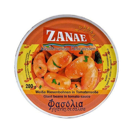 ZANAE Giant Beans in Tomato Sauce 280g resmi
