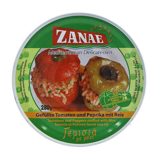 ZANAE Tomatoes & Peppers Stuffed w/Rice 280g resmi