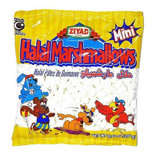 ZIYAD Halal Marshmallows Mini 250g resmi