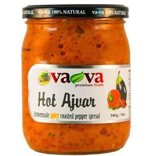 VAVA Hot Ajvar 540g resmi