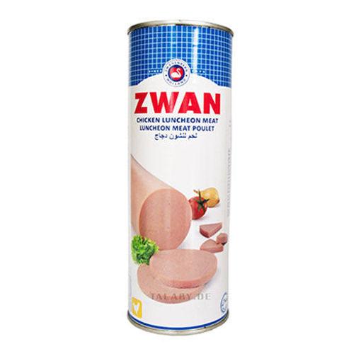 ZWAN Chicken Luncheon Meat 837g resmi