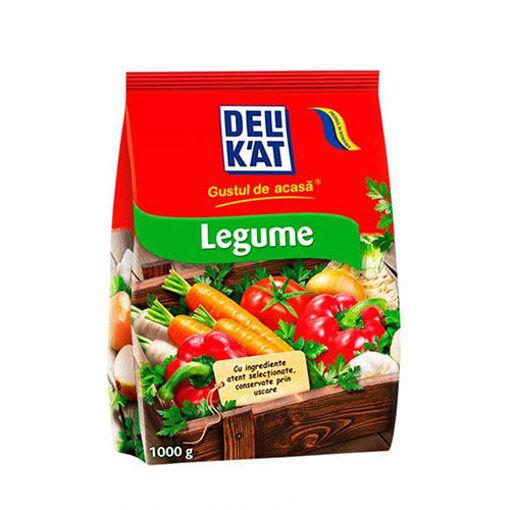 DELIKAT Legume Vegetable Seasoning 1000g resmi