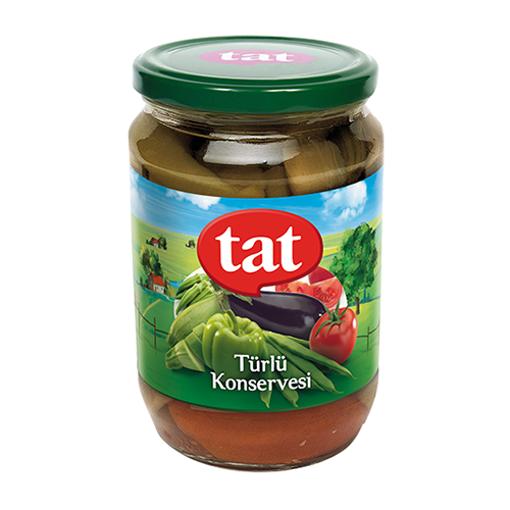 TAT Mixed Vegetables (Turlu Konserve) 680g resmi