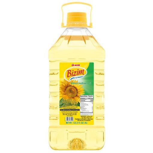 ULKER Bizim Sunflower Oil 4000ml resmi