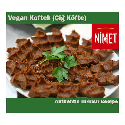 NIMET Vegan Kofteh (Cig Kofte) 400g resmi