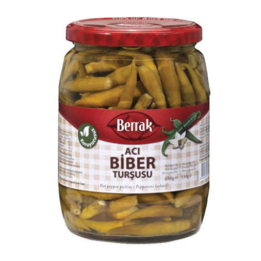 BERRAK Hot Pepper Pickles 720g resmi