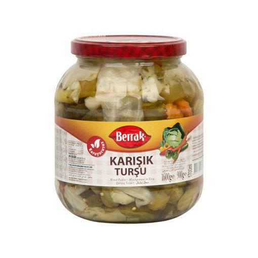 BERRAK Mixed Pickles 1600g resmi