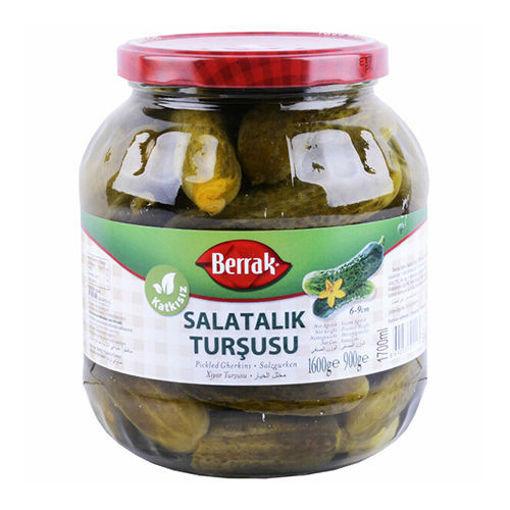 BERRAK Pickled Gherkins 1600g resmi