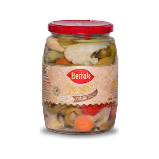 BERRAK 'Rich' Mixed Pickles 980g resmi