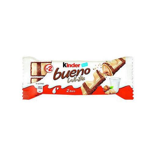 KINDER Bueno White Chocolate Bar 43g resmi