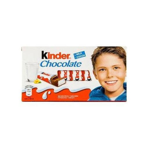 KINDER Chocolate Bars 100g resmi