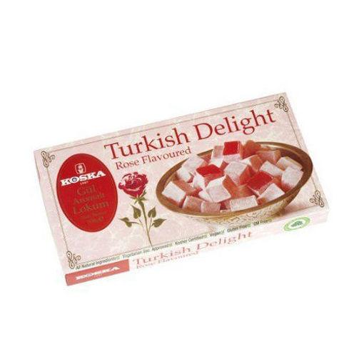 KOSKA Turkish Delight w/Rose 500g resmi