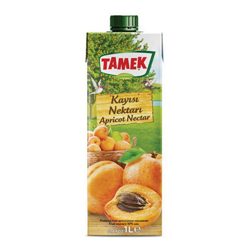 TAMEK Apricot Juice 1L resmi