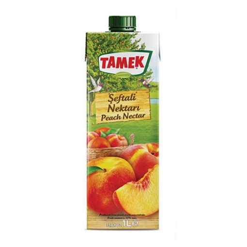 TAMEK Peach Juice 1L resmi