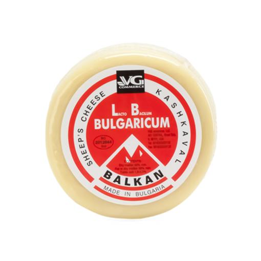 VG Bulgarian Sheep's Milk Kaskhaval Cheese Red Label 500g resmi