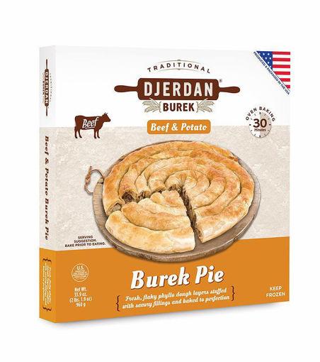 DJERDAN Burek Pie w/Beef & Potato 960g resmi