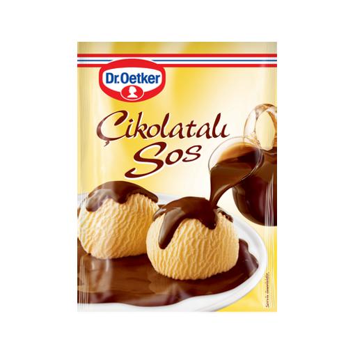 DR. OETKER Cikolatali Sos (Chocolate Mix) 128g resmi