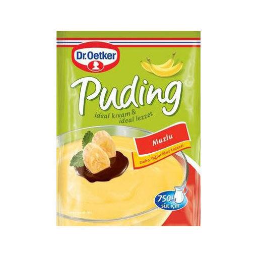 DR. OETKER Muzlu Puding (Banana Pudding) 125g resmi