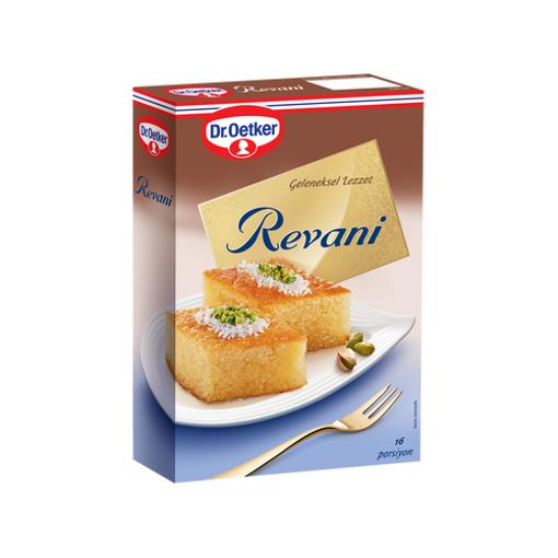 DR. OETKER Traditional Semolina Cake (Revani) 500g resmi