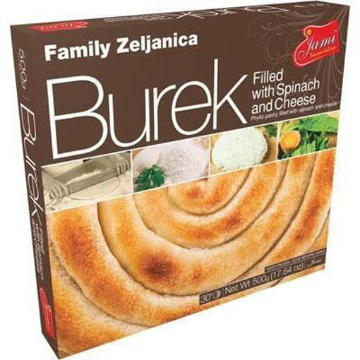 JAMI Burek Filled w/Spinach & Cheese 500g (Family Size) resmi