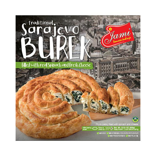 JAMI Sarajevo Burek w/Spinach & Cheese 950g resmi